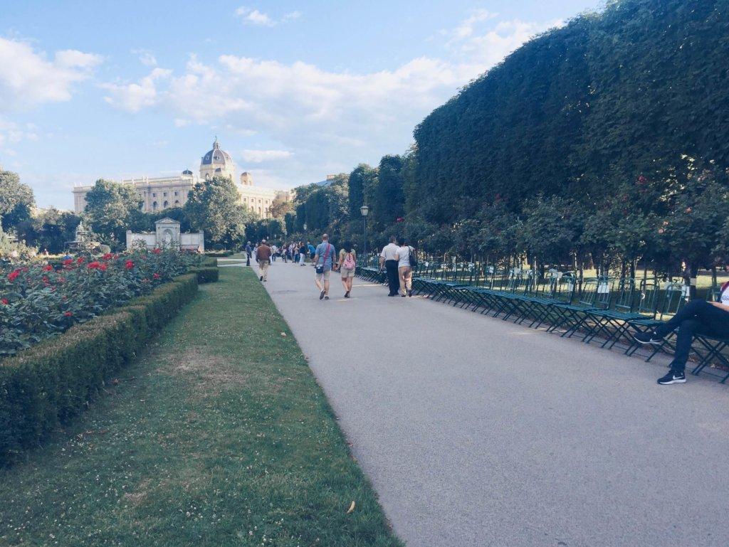 Сад роз, Вена, Австрия