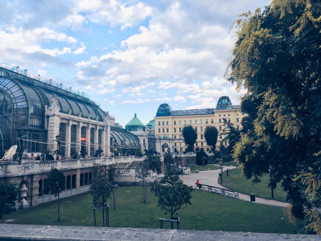 Бурггартен Вена Австрия