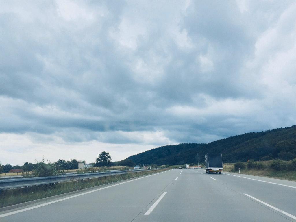 путешествие по Европе на машине