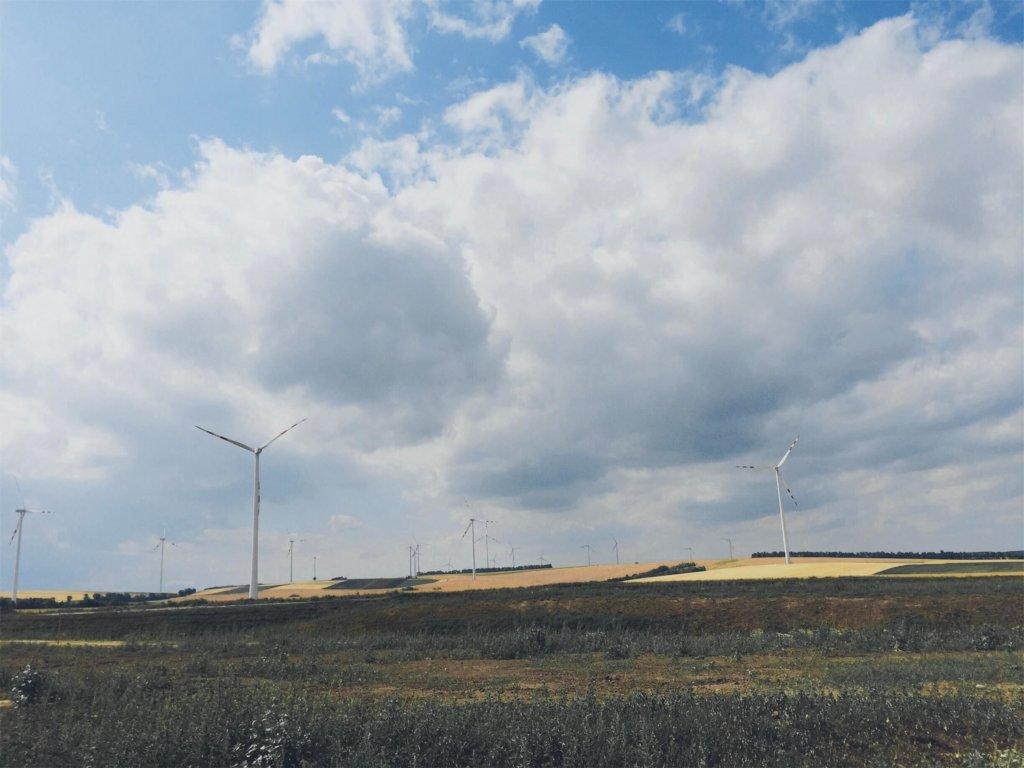 Ветряки в Австрии