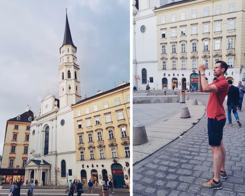 маршрут прогулки по Вене