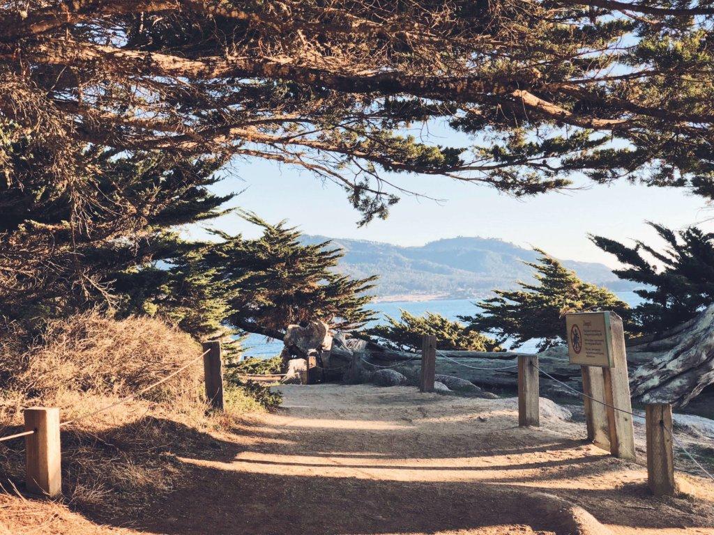 17 мильная дорога Монтерей Калифорния