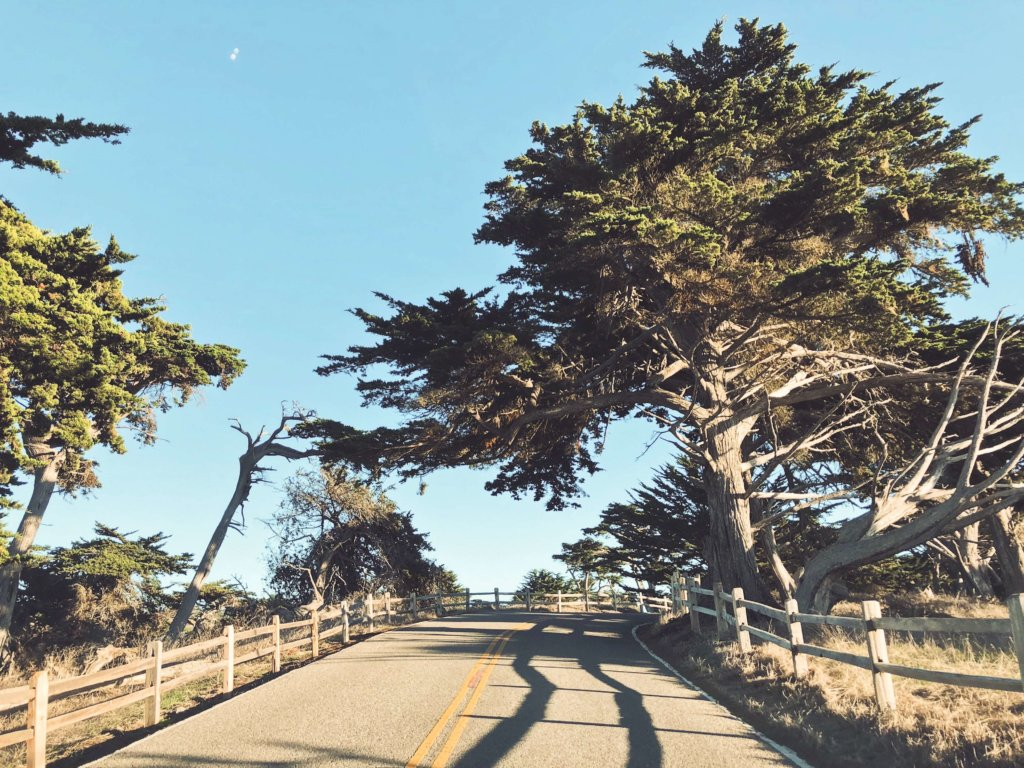 17-мильная дорога Калифорния
