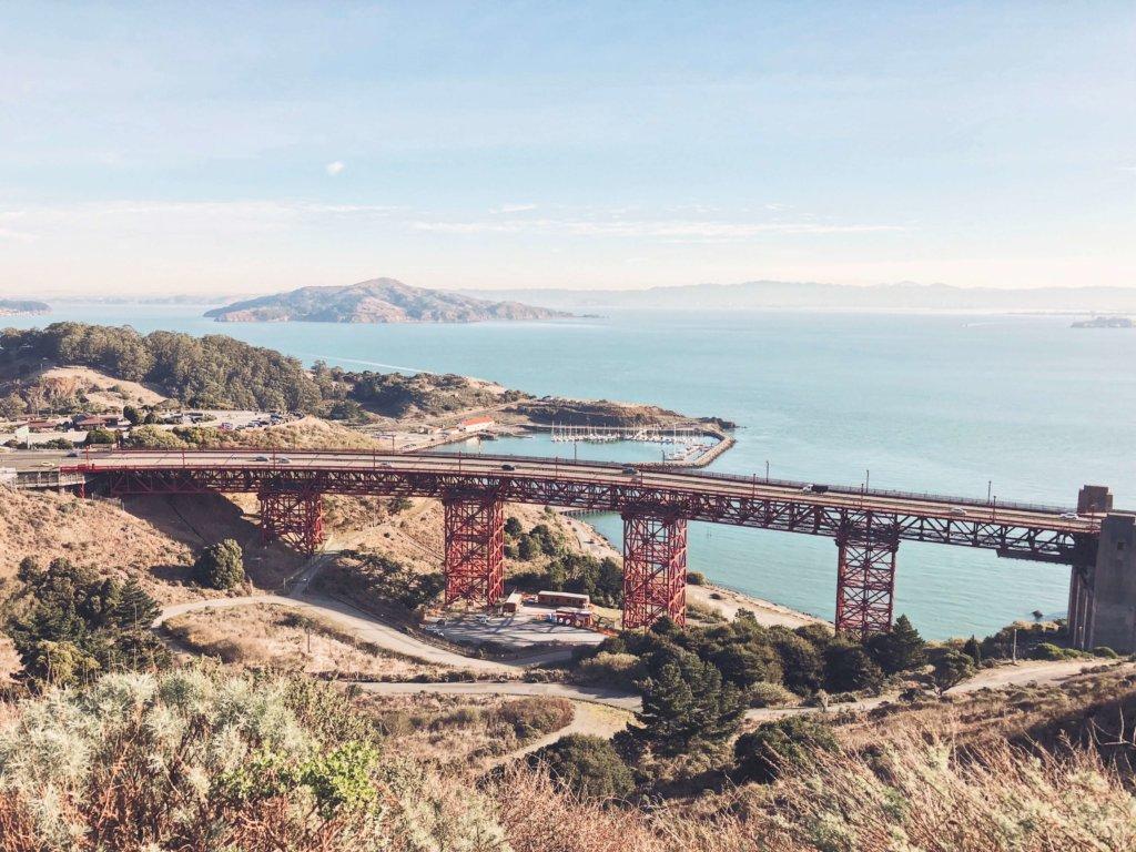 Мост Золотые ворота Сан-Франциско
