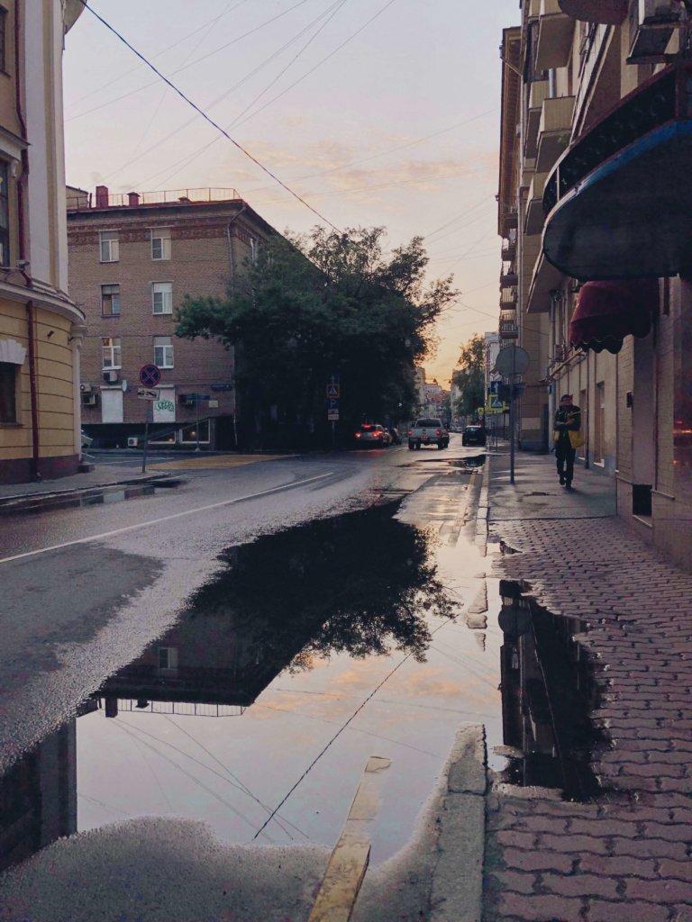 прогулки по летней москве