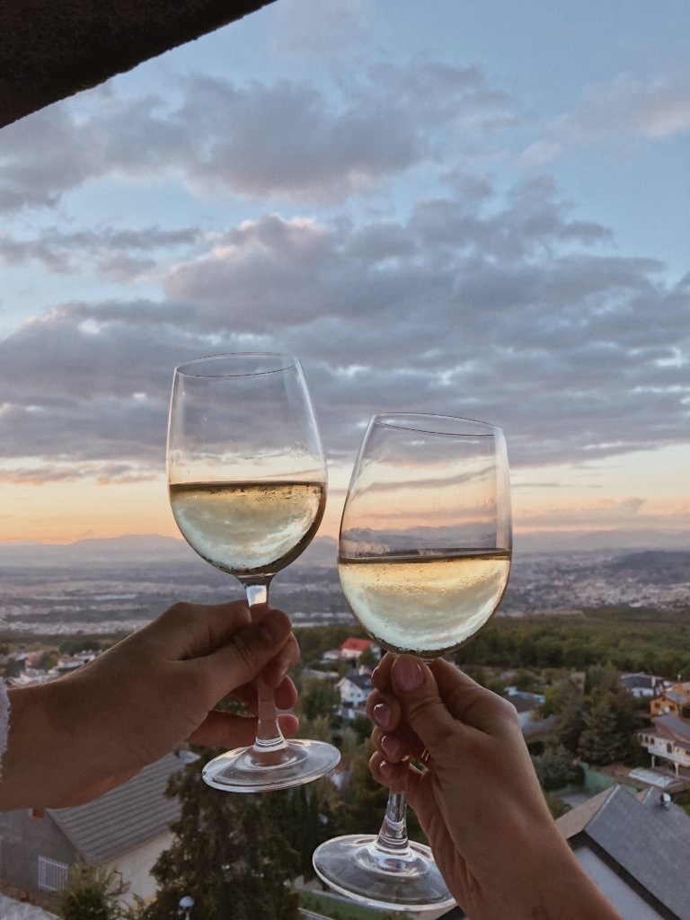 Отель El Balcon de las Nieves с видом на Гранаду. Отель в Гранаде, Испания. Где остановиться в Гранаде? Гранада, Испания отели. Отель с красивым видом.