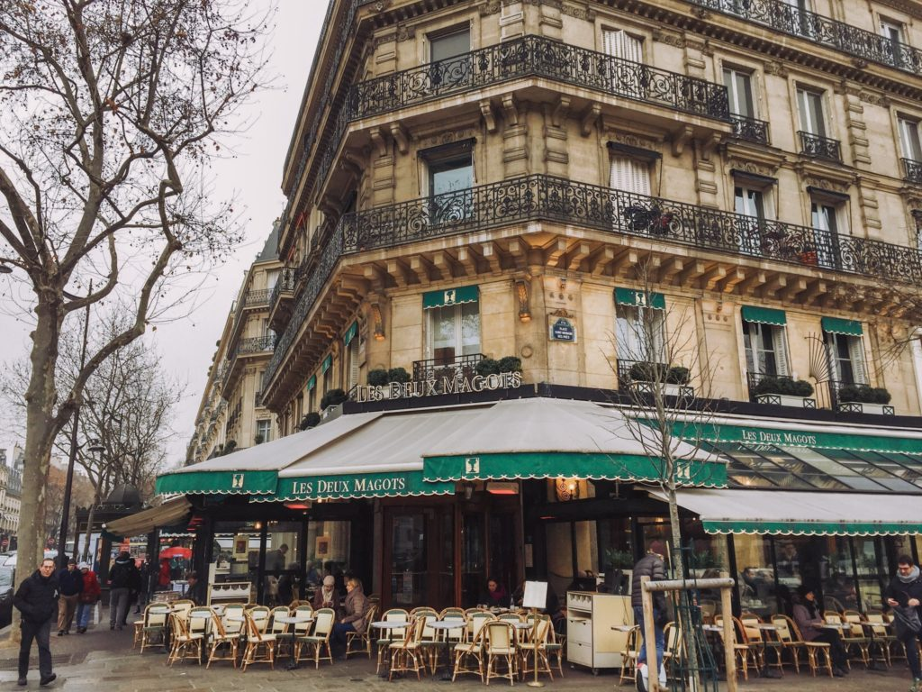 Кафе Les Deux Magots Париж | Slow Soul