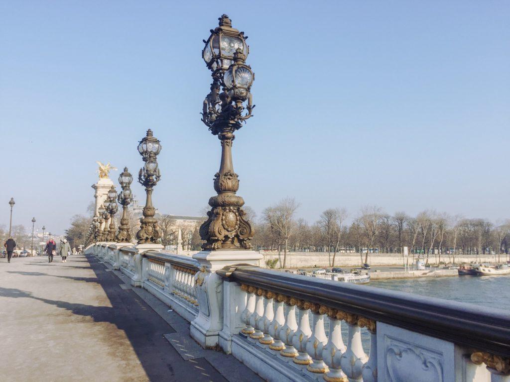 Мост Александра III в Париже | Slow Soul