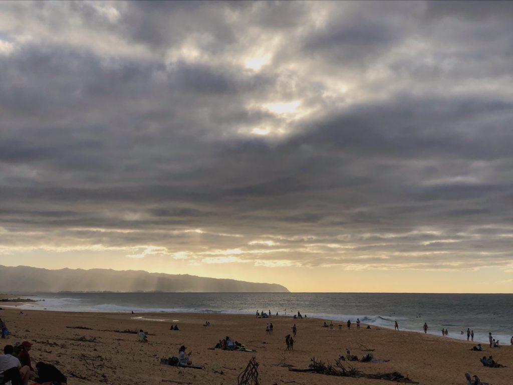 Гавайи. Пляжи. Вода на Гавайях. Голубые Гавайи. серфинг