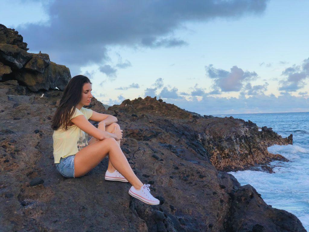 Гавайи. Пляжи. Вода на Гавайях. Голубые Гавайи.