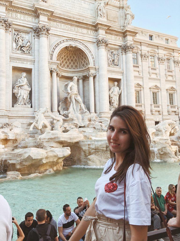 фонтан де Треви Рим