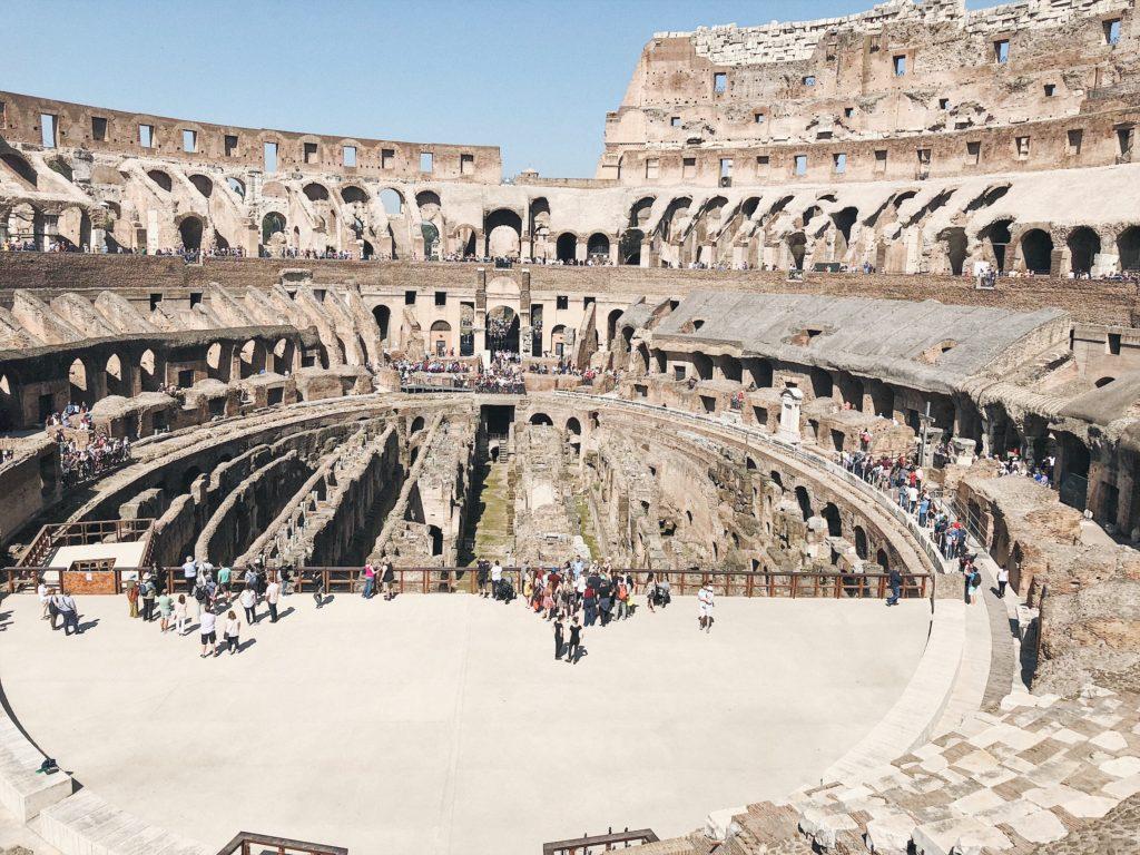 Колизей вид внутри фото