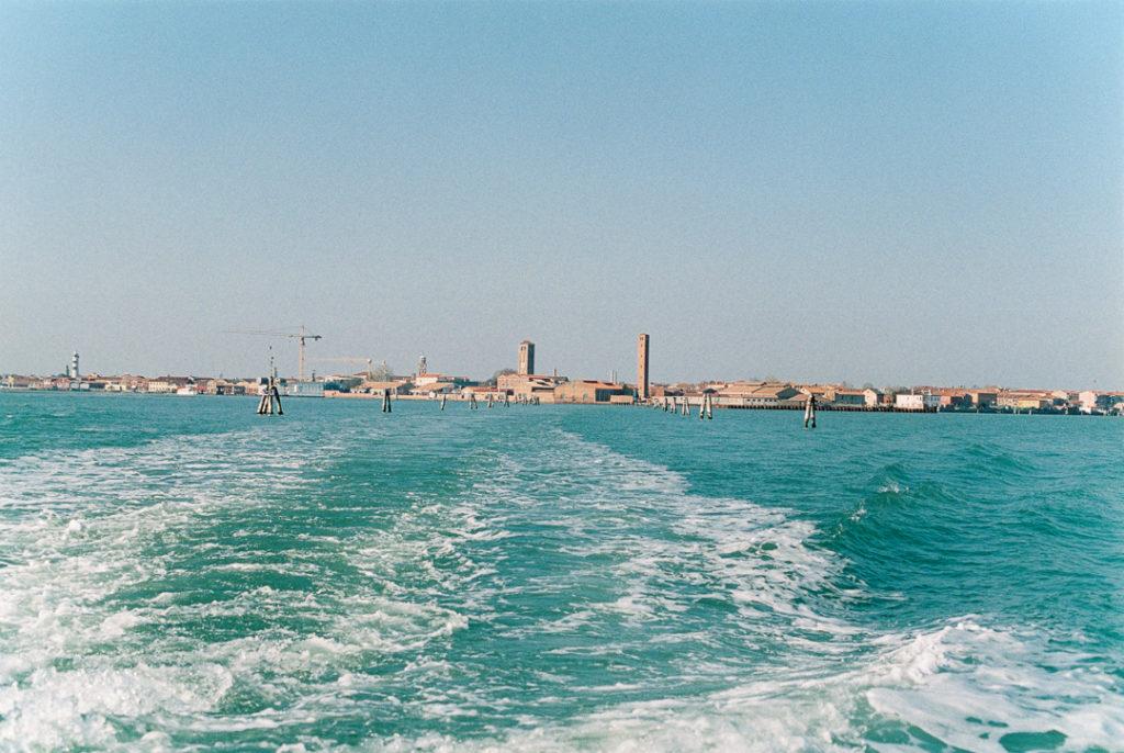вид на Венецию с воды