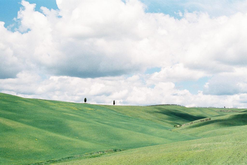 Тосканские холмы. Виды Тосканы
