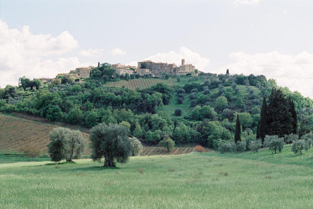 Монтальчино город Тоскана