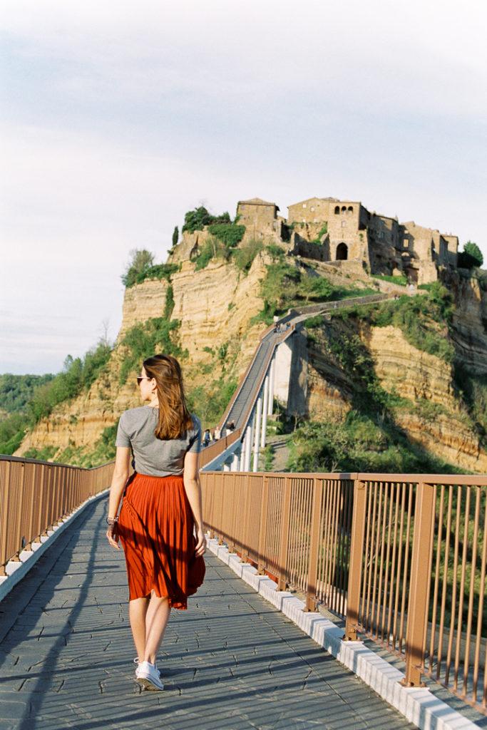 Чивита ди Баньореджо вид на город