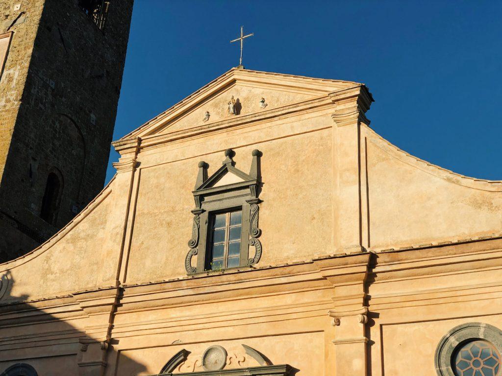 Чивита ди Баньореджо город Италия