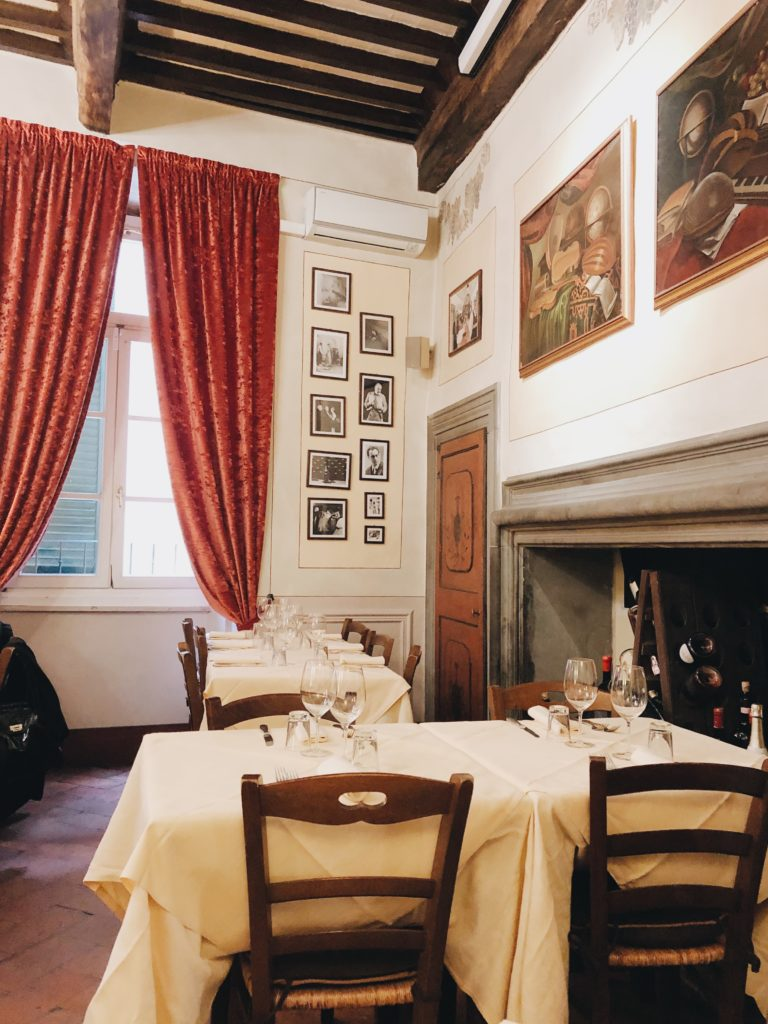 ресторан Мишлен в Кортоне
