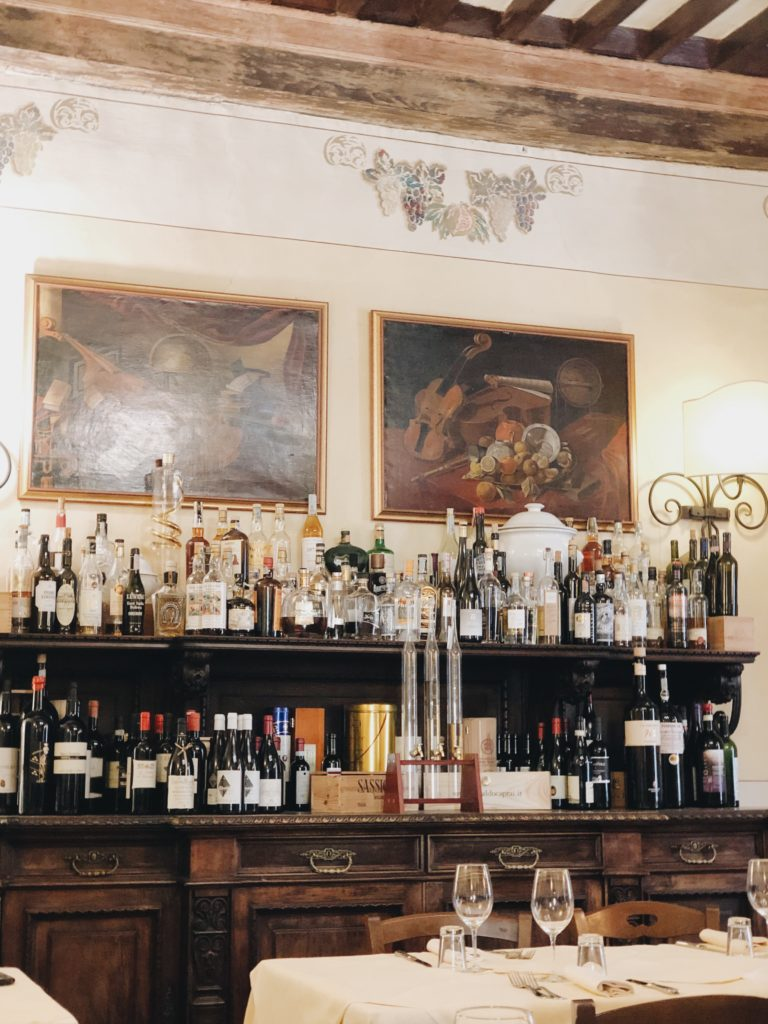ресторан Мишлен Кортона Тоскана