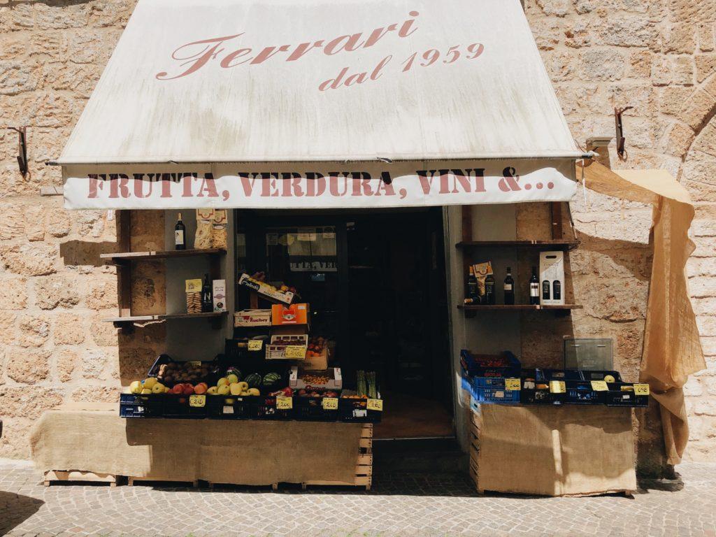 итальянская продуктовая лавка