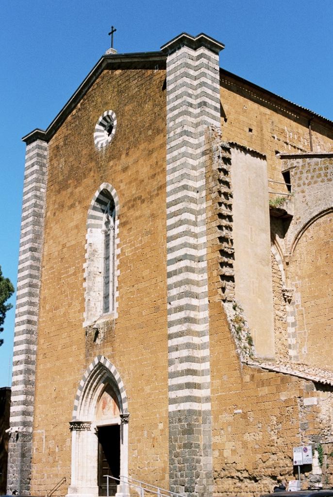 церкви Орвието