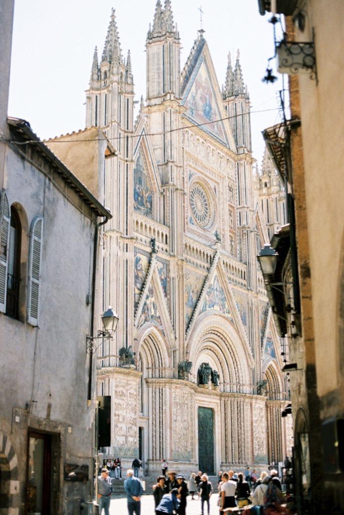Вид на Кафедральный Собор Орвието