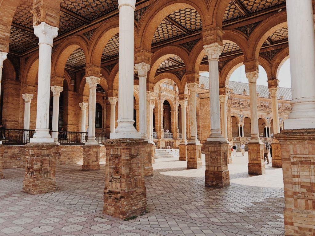 Площадь Испании Севилья фото