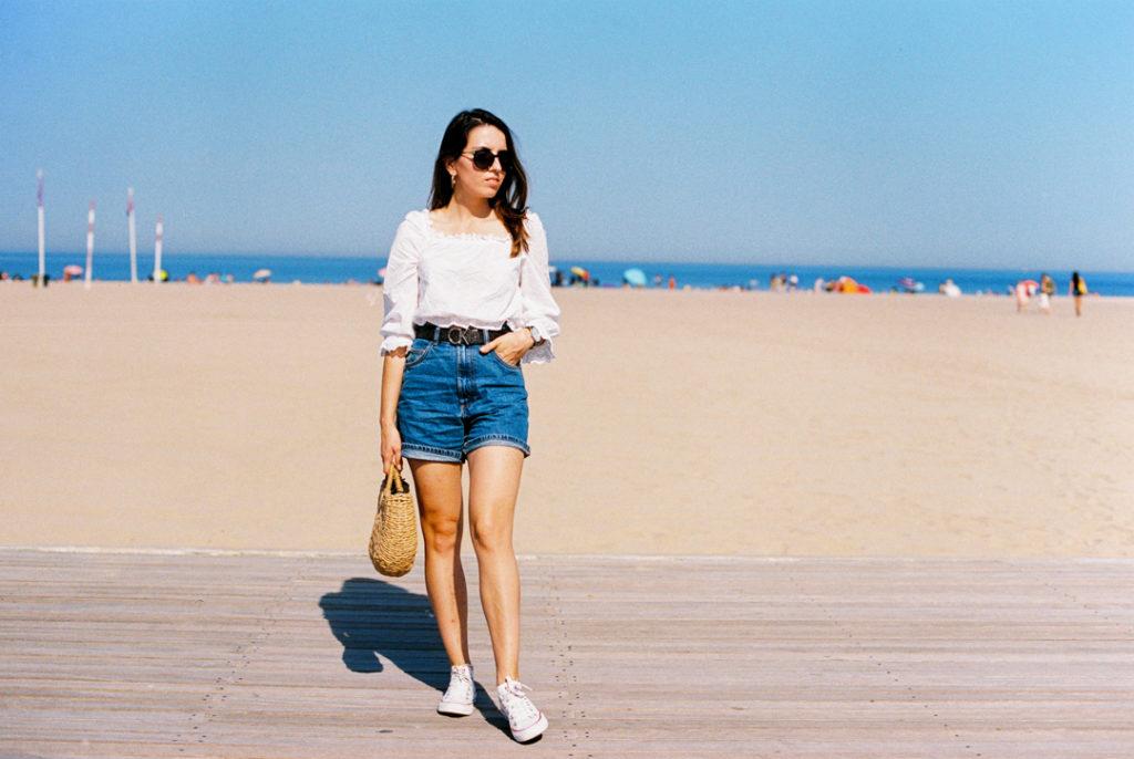 пляж Довиля фото