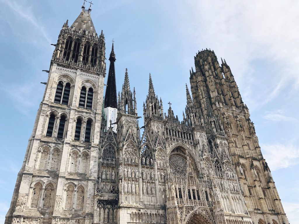Руанский собор фасад фото