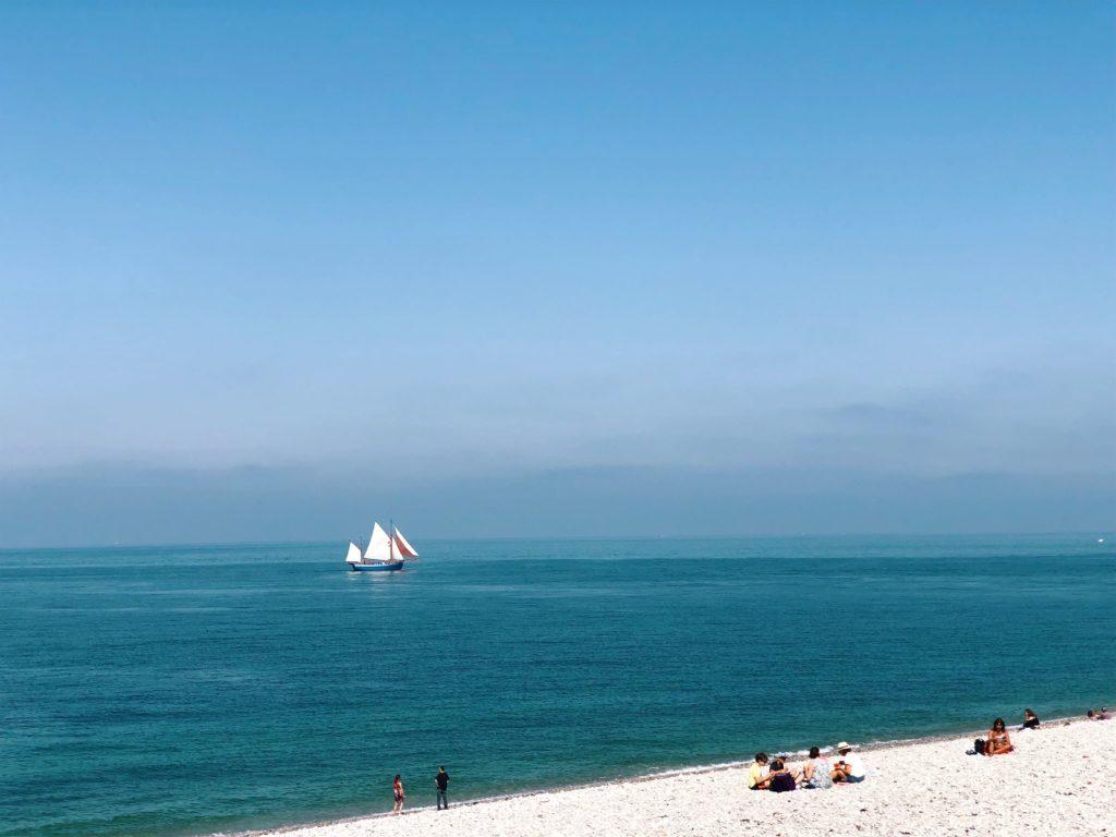 Фекан Франция пляж фото