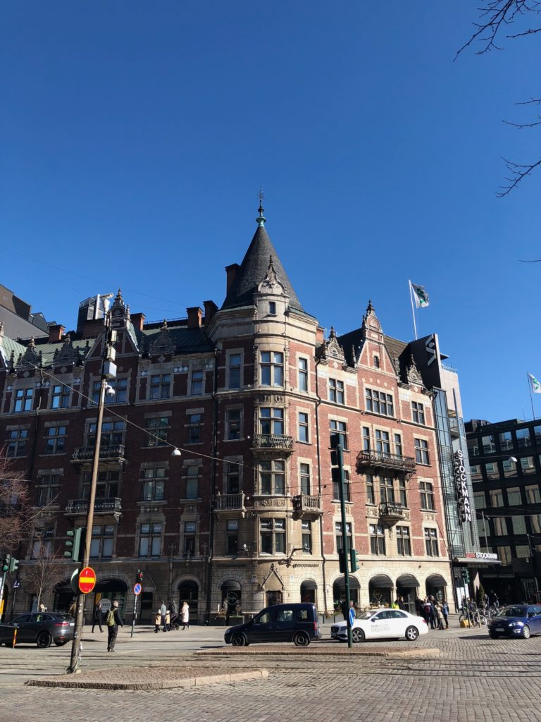 Красивые улицы Хельсинки