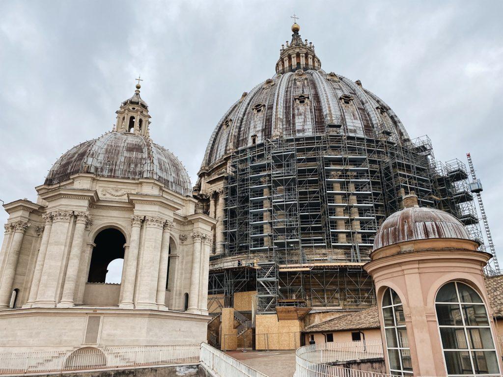 купол собора святого петра в ватикане рим