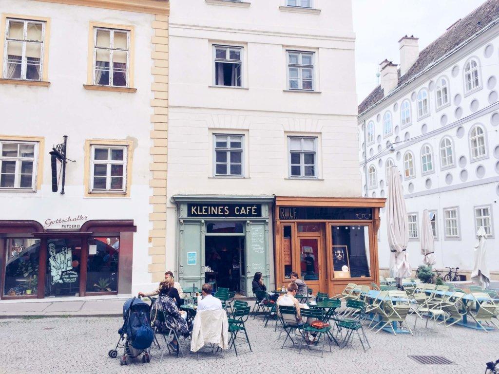 Вена, Австрия, венское кафе
