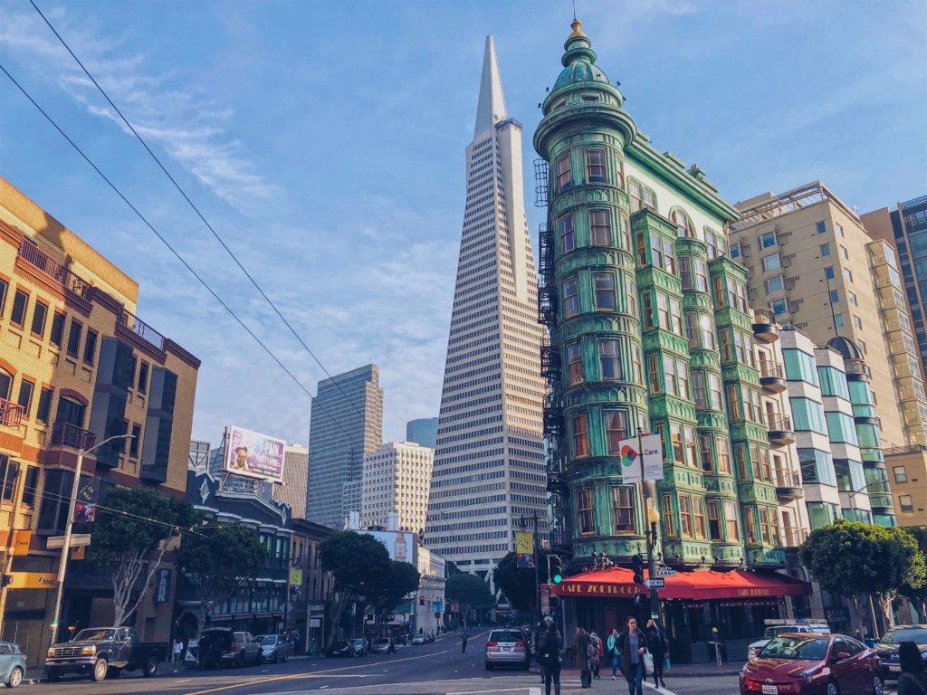 San Francisco Downtown Сан Франциско