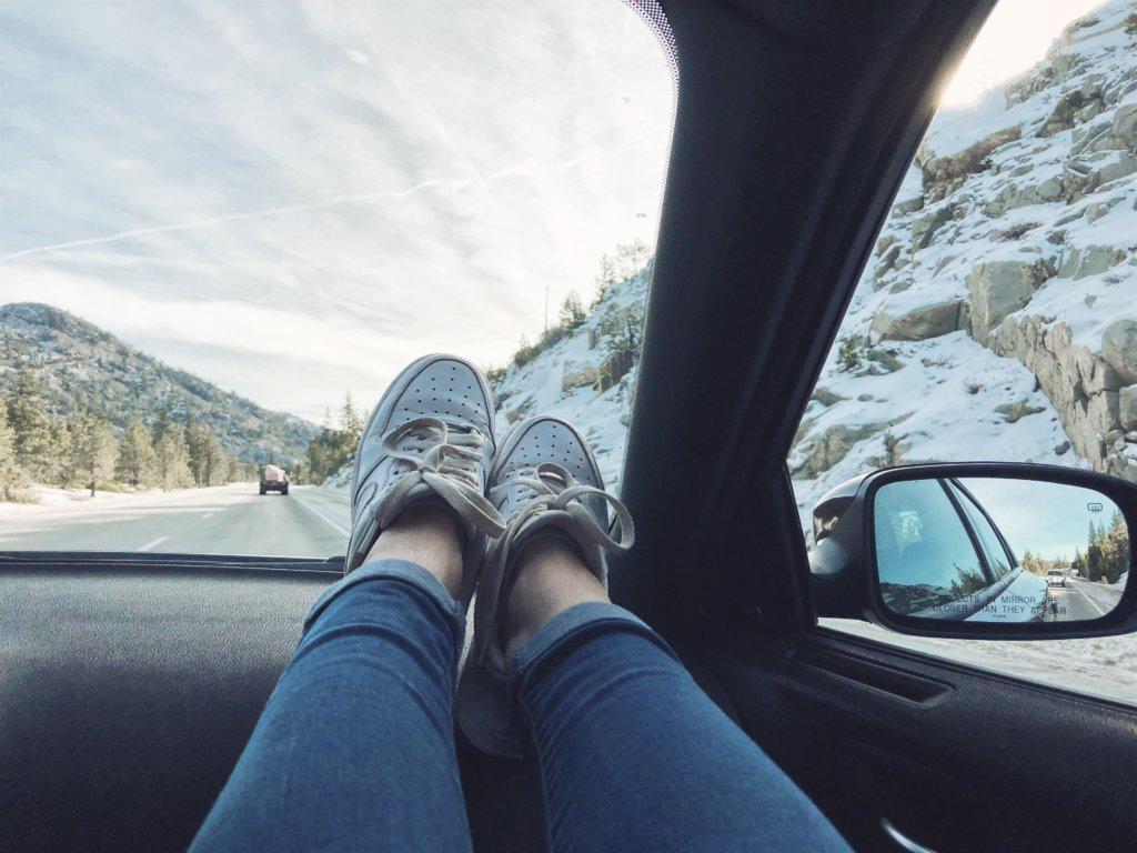 Путешествие на машине по Америке