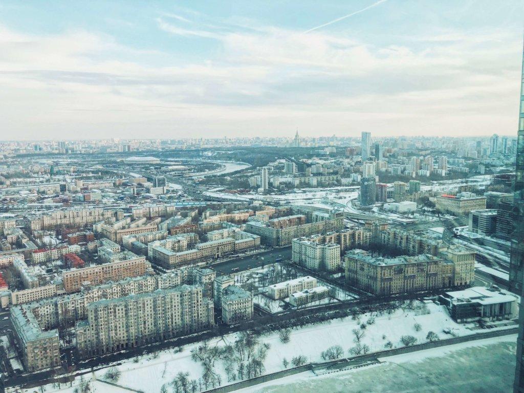 Москва-сити смотровая
