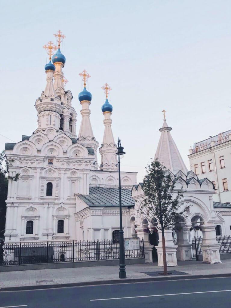 прогулка по летней Москве