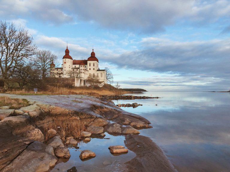 Лекё замок в Швеции. Замки Швеции.