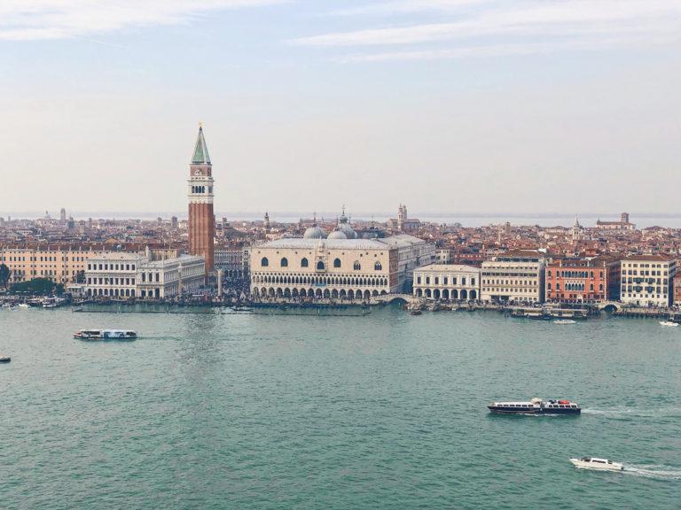 Венеция. Вид на площадь Сан-Марко