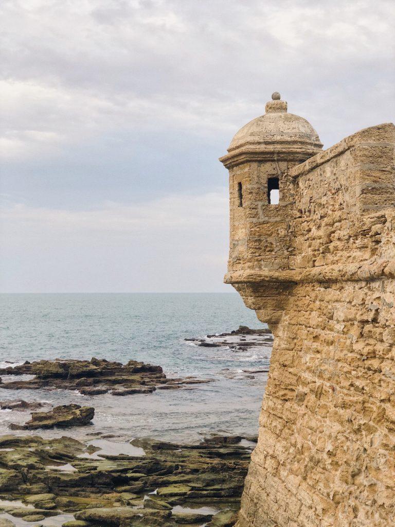 Кадис Испания крепость