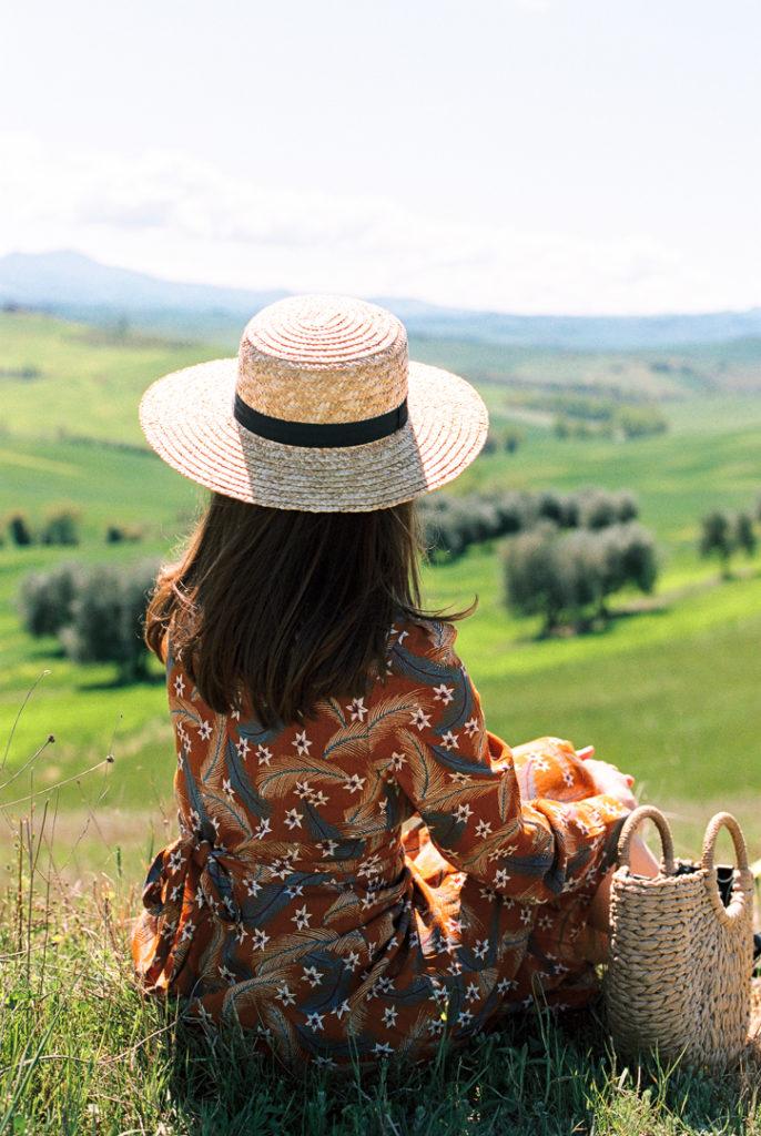 Тоскана пейзаж. Тоскана Италия