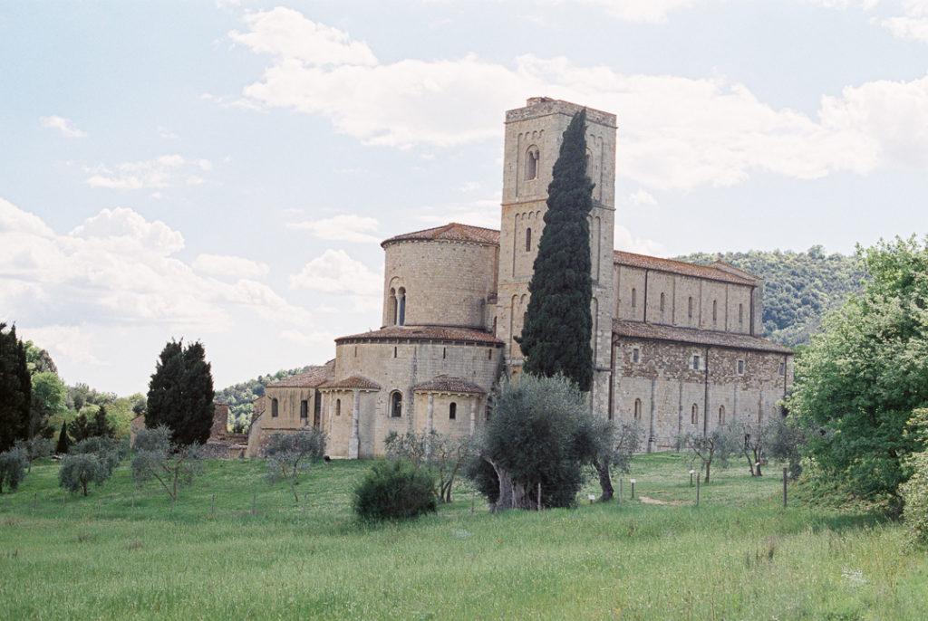 аббатство Санта-антимо Тоскана Валь д'Орча