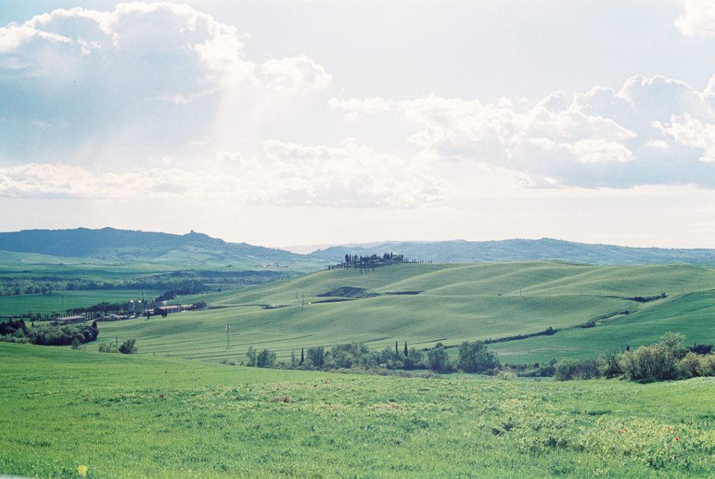 Тосканские холмы фото