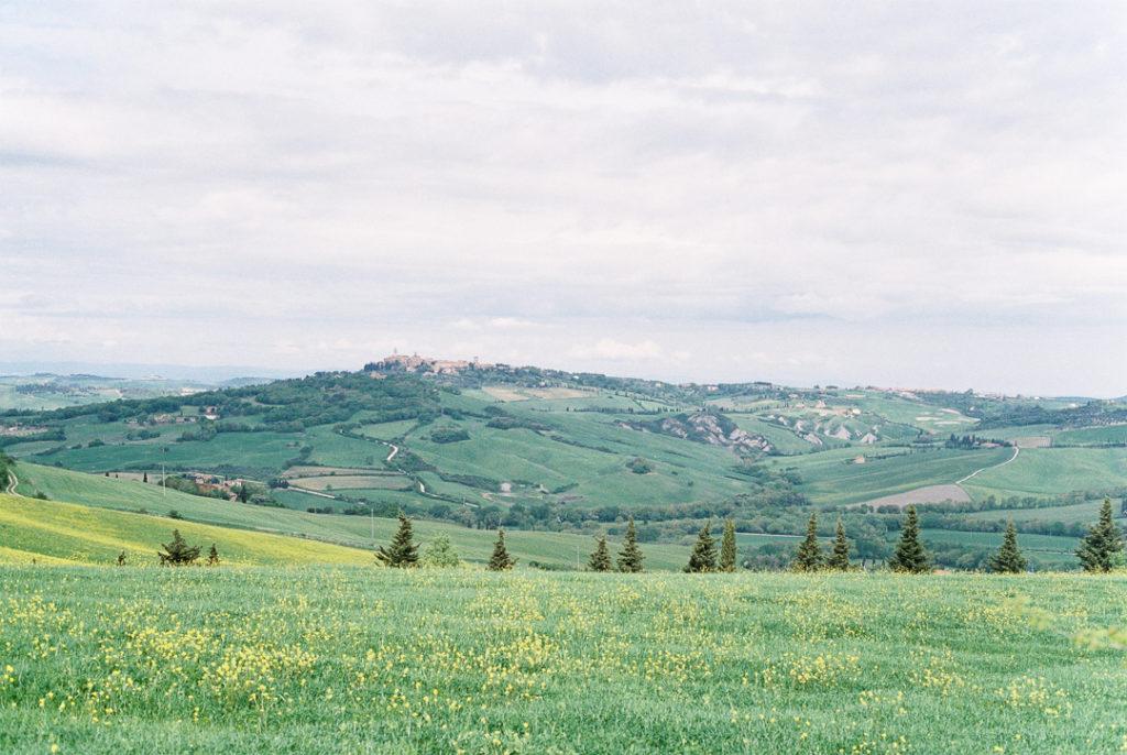 Тосканские пейзажи. Тоскана Италия фото