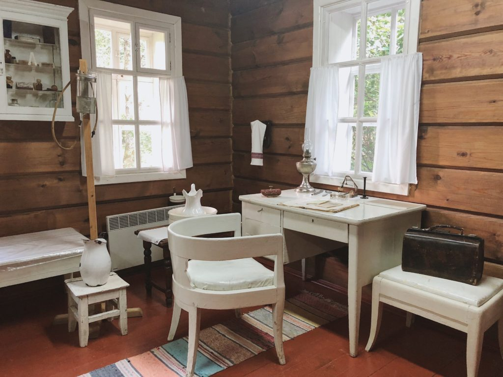 врачебный кабинет Чехова