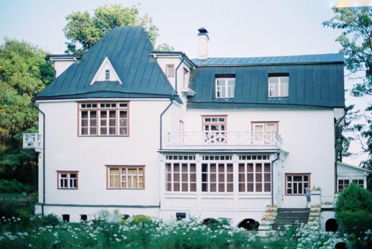 усадьба Поленово Тульская область главный дом