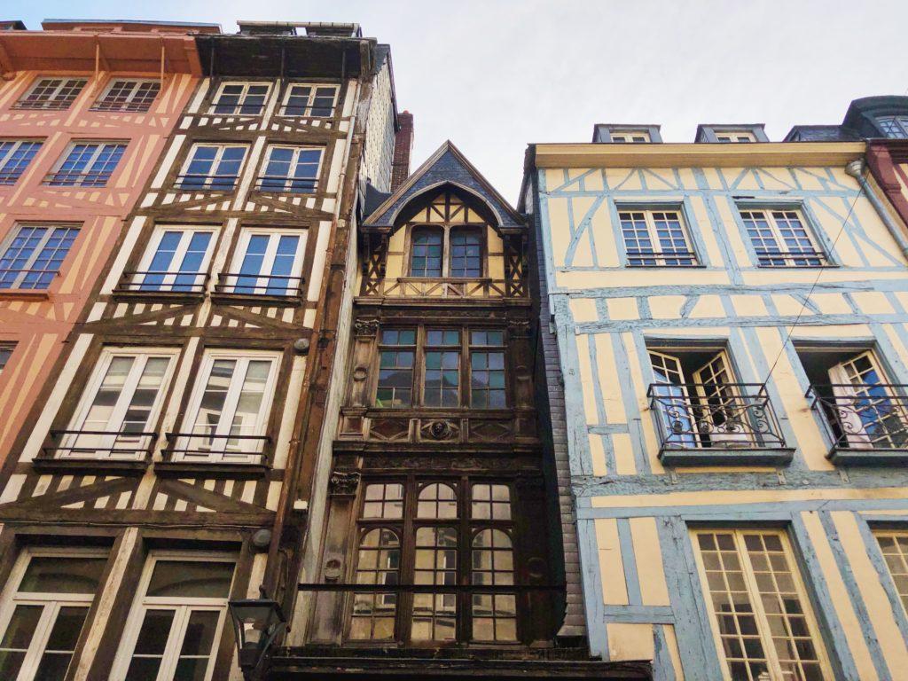 Руан Франция фото фахверковые дома