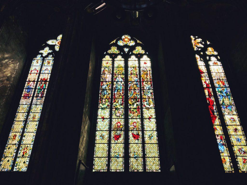 витражи Руанского собора Франция