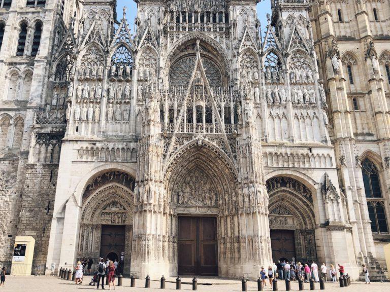 Руанский собор Франция фото