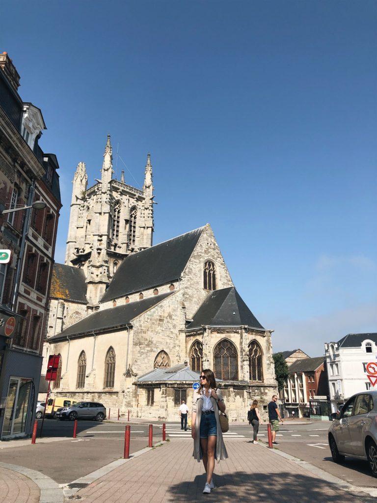 Фекан Церковь Сен Этьен фото